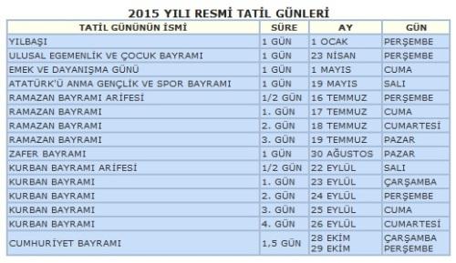 2015-tatil-gunleri